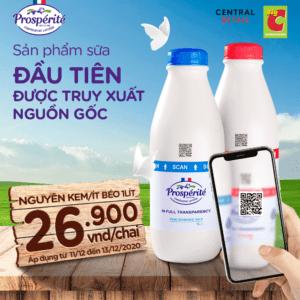 digital milk certified in real time in vietnam qr code traceability transparency